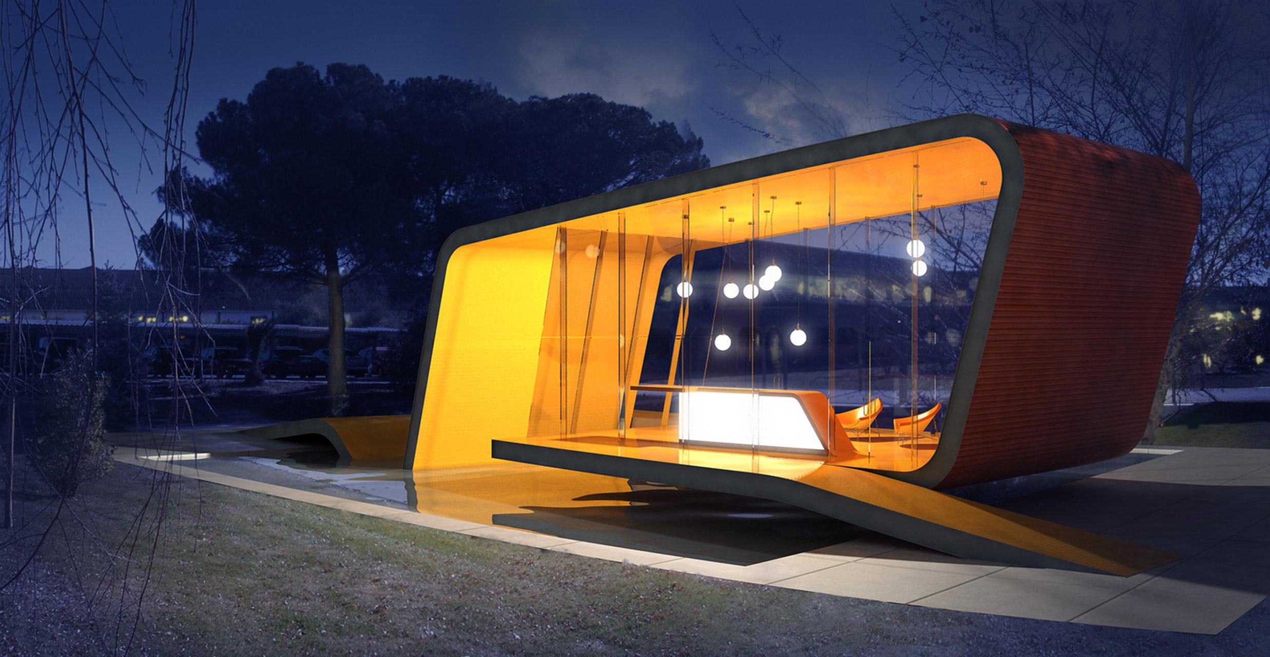 Lorenzo Alonso Arquitectos_ Pabellon de descanso Tetrapack
