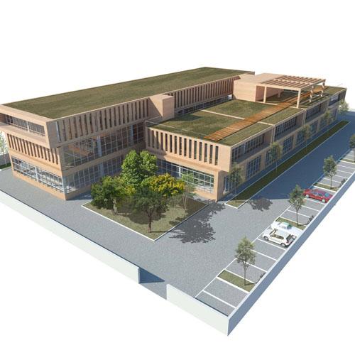 Lorenzo Alonso Arquitectos_Complejo Artesanal en BONCOURT