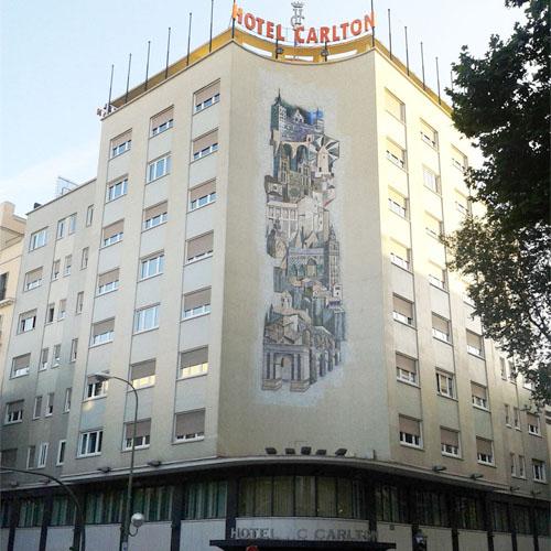 Lorenzo Alonso Arquitectos_ Rehabilitación Hotel Carlton en Madrid